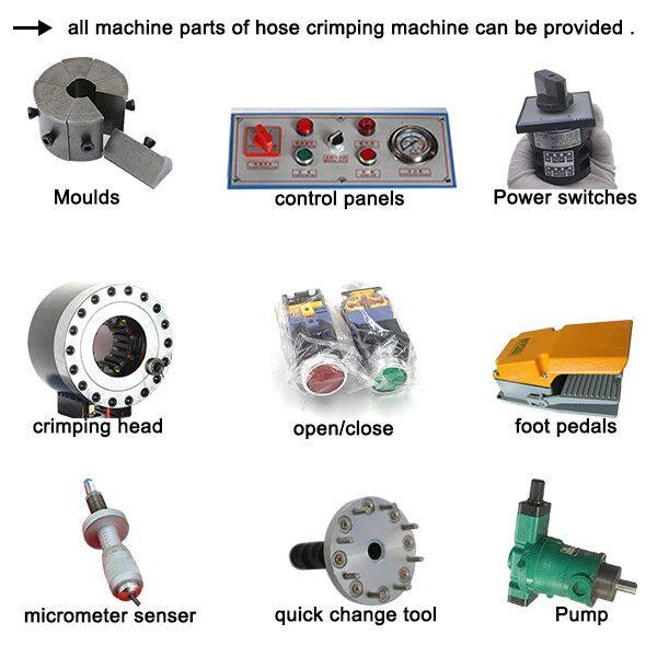 hose crimping machine machine part